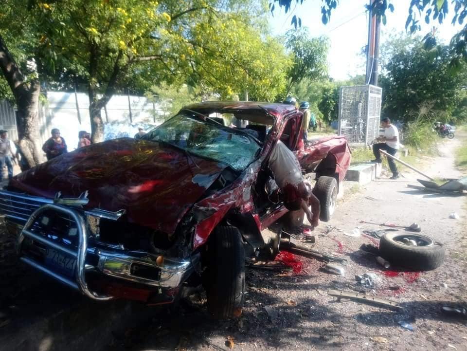 Accidente mortal en la carretera de Oro, Soyapango
