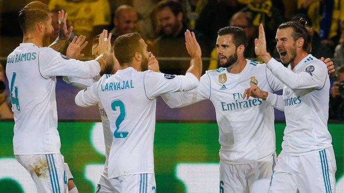 El Real Madrid (2º) empató 1-1 con el Athletic de Bilbao (4º) este sábado 34271cb47942b