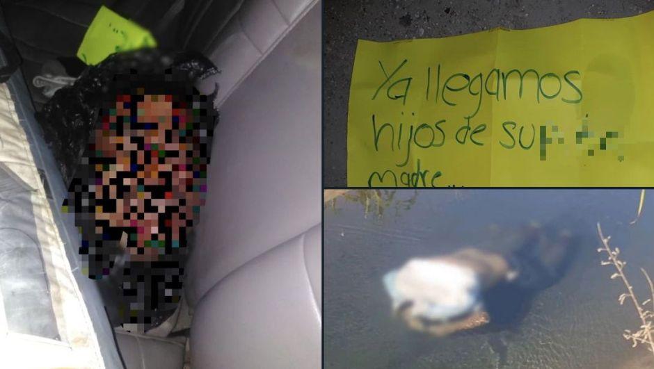 Descuartizan a tres presuntos integrantes del CJNG — Policiaca México