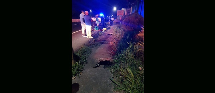 Motociclista fallece anoche en accidente de tránsito en carretera de San Salvador a Sonsonate - Diario Digital Cronio de El Salvador
