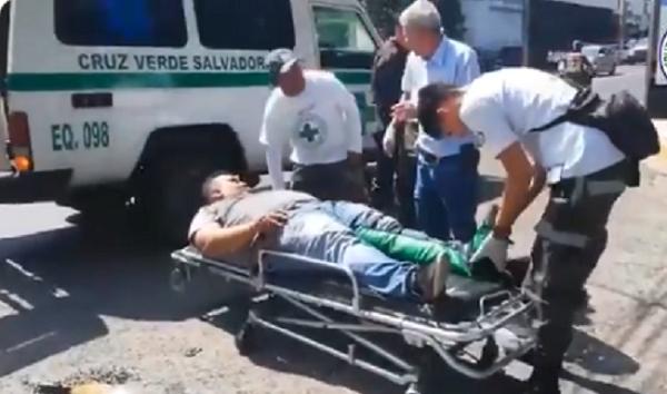 VIDEO: Cuerpos de socorro reportan dos lesionados de gravedad en distintos accidentes en San Salvador - Diario Digital Cronio de El Salvador