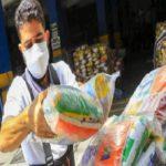 Gobierno entrega cestas con alimentos a cooperativas de pick ups y microbuses afectadas por impacto económico de la pandemia